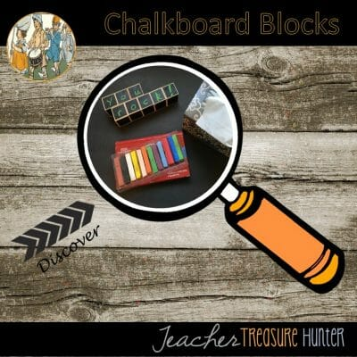 Chalkboard Blocks from Target! DIY video