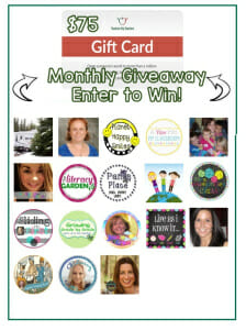 $75 Teachers Pay Teachers gift card giveaway!
