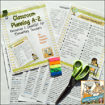 Classroom Planning A-Z ~ Helping teachers prepare for Back-to-School