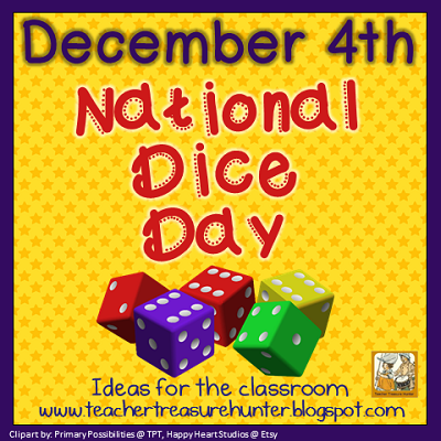 National Dice Day ~ December 4th