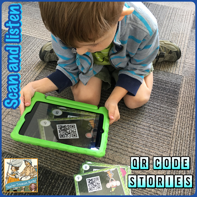 QR Code Stories - scan and listen