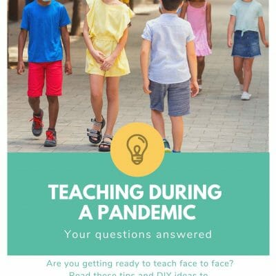 Teaching face to face during a pandemic